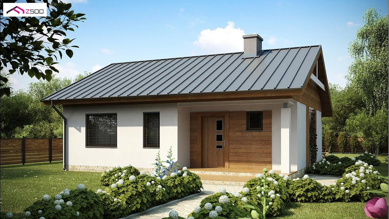 70 Square Meter Small and Simple House Design With Floor ...