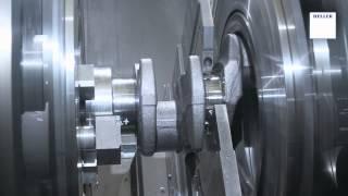 HD-I6 crankshaft - Flexible production of crankshafts and camshafts with HELLER