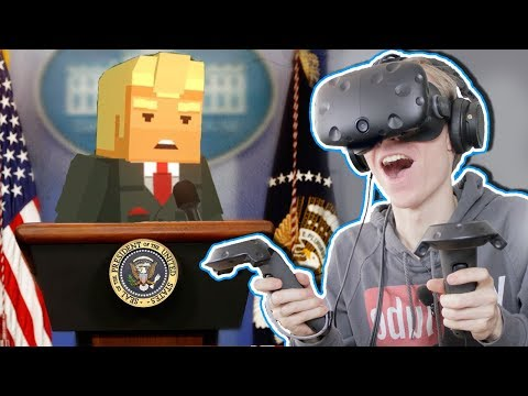 SAVING DONALD TRUMP IN VIRTUAL REALITY! | Just in Time VR (HTC Vive Gameplay)