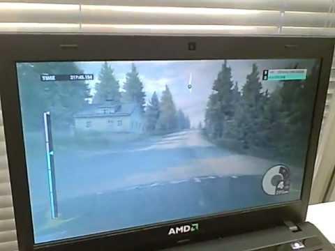 Dirt 3 On AMD Trinity APU