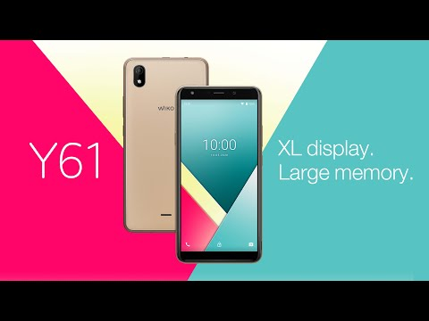 Wiko Y61 - XL Display. Large Memory. 4G