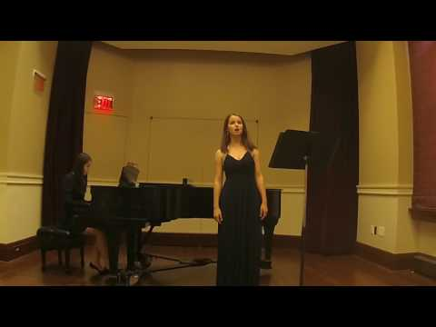 """""""El Tra La La y el Punteado"""", E. Granados, Rosalie Toupin (mezzo-soprano)"""