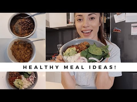 WHAT I EAT IN A DAY | COOK WITH ME! | HEALTHY MEAL IDEAS