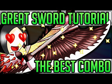 Great Sword Tutorial - Monster Hunter World - HIGHEST DAMAGE COMBO! (Tips, Tricks and Epic Hits)