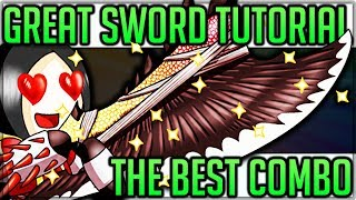 Great Sword Tutorial - Monster Hunter World - Best Weapon in Game! (Tips, Tricks and Epic Hits)