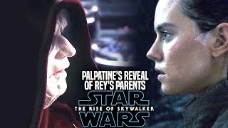 Palpatine's Reveal Of Rey's Parents! The Rise Of Skywalker (Star Wars Episode 9)