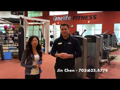 Onelife Fitness - Brambleton with Local Realtor Jin Chen