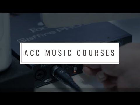Music Technology Course: Sound Engineering  Access to Music