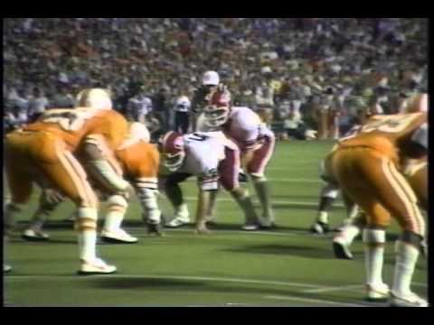 1980 Georgia Bulldogs at Tennessee Volunteers- Munson