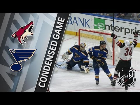 Arizona Coyotes vs St. Louis Blues – Jan. 20, 2018 | Game Highlights | NHL 2017/18. Обзор матча