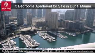 3 Bedroom Apartment for Sale in Dubai Marina, Paloma Tower