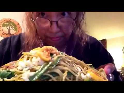New subscriber appreciation: homemade veggie pasta w/preserved lemons, roses/Bday/shouts, Time...