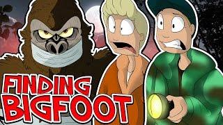 WE CAUGHT BIGFOOT?!! - FINDING BIGFOOT!! W/Speedy