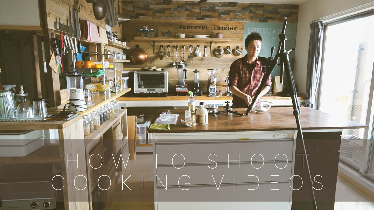 How to Shoot Cooking Videos ☆ 料理動画の撮影の仕方