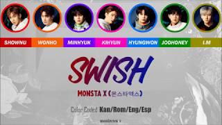 MONSTA X (?????) - Swish (Color Coded Kan/Rom/Eng/Esp Lyrics)