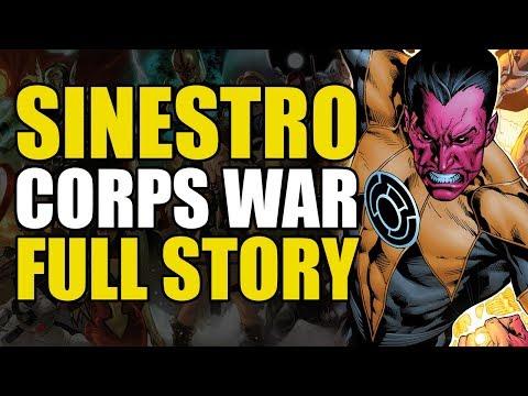 Green Lantern Sinestro Corps War: Full Story