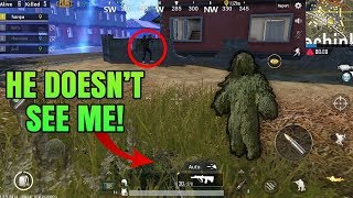 Ghillie Suit EXPERIMENT! Does the disguise actually works? | Ghillie Suit Trolls | PUBG Mobile