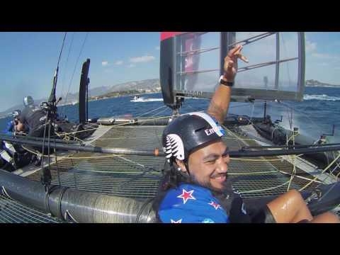 ETNZ: An Impact sail with Ma\'a Nonu