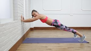 5 Moves to Transform Your Body Using a Wall | Class FitSugar