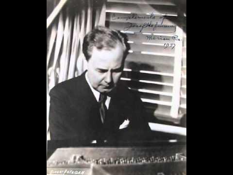 Josef Hofmann plays Chopin Andante Spianato e Grande Polonaise Op.22 - Live