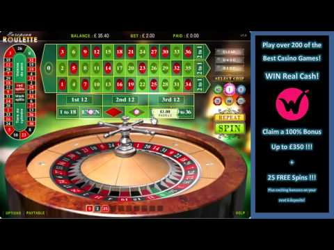 European Roulette – Play The Best Online Casino Games At Wicked Jackpots!