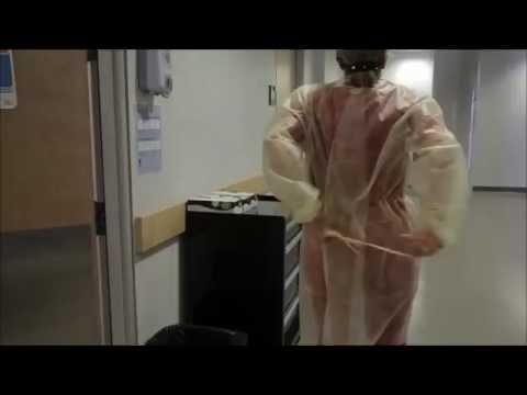 Taking Off Full PPE