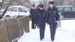 2017-01-13 г. Брест. Рейд ГОЧС по домам с печным отоплением.  Новости на Буг-ТВ.