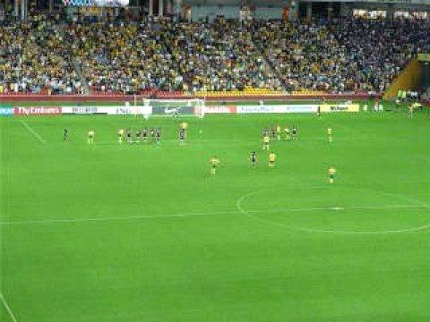 Brett Emerton Penalty against Qatar