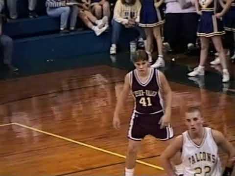 Sesser Valier at Elverado high school basketball 1995