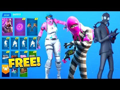 *NEW* Leaked Fortnite Skins & Emotes..! (OG Ghoul Style, Halloween Skins)