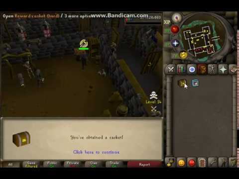 Osrs Hard clue scroll map location (Wilderness, castle with crate ...