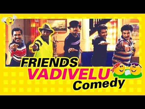 Friends | Tamil Movie Comedy | Vijay | Vadivelu | Suriya | Ramesh Khanna | Devayani | Charlie