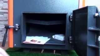 Обзор пиролизного котла Котеко Уника 15 кВт.