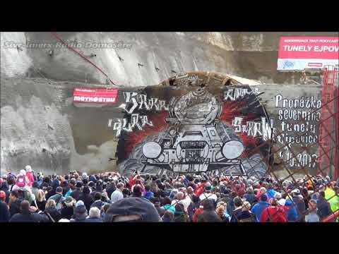 Prorážka tunelu Ejpovice - 7.10.2017