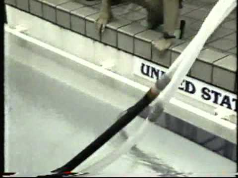 "USA Swimming Jeff Olsen in ""The Flume"" for four hours (1991)"