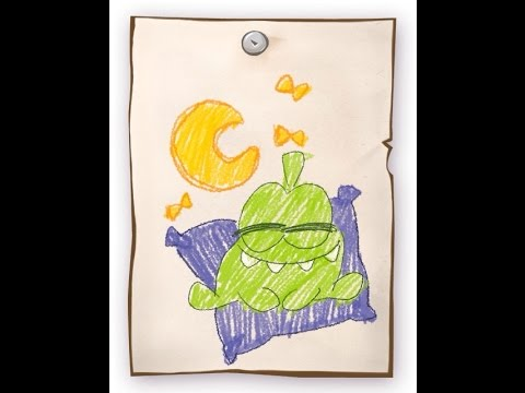 Cut The Rope - Pillow Box Drawing Location Level 16-13