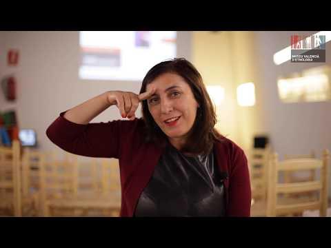 Entrevista a Ana C. Herreros, en el Museu Valencià d'Etnologia de València