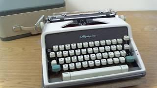 Olympia SM7 DeLuxe Typewriter