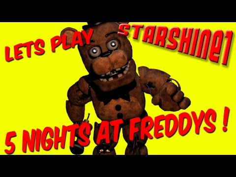 Let's Play: Five Nights At Freddy's !