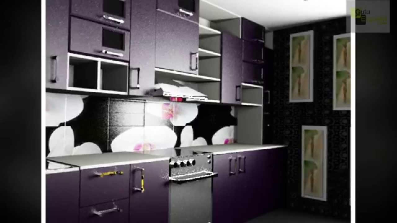 тёмные кухни фото
