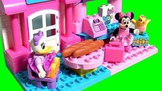 Conjunto Lego Duplo A Loja de Laços da Minnie Mouse com a Margarida Lego 10844 Toys BR