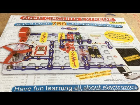 snap circuits fun and safe electricity projects youtube rh youtube com