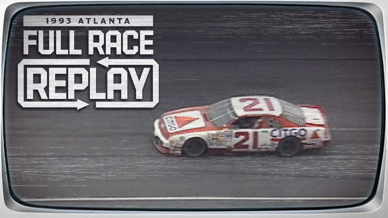 1993 Motorcraft Quality Parts 500 from Atlanta Motor Speedway | NASCAR Classic Full Race Replay