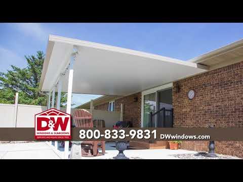 Patio Cover Sale! 55% Off Installation | D&W Windows - Patio Cover Sale! 55% Off Installation D&W Windows - YouTube