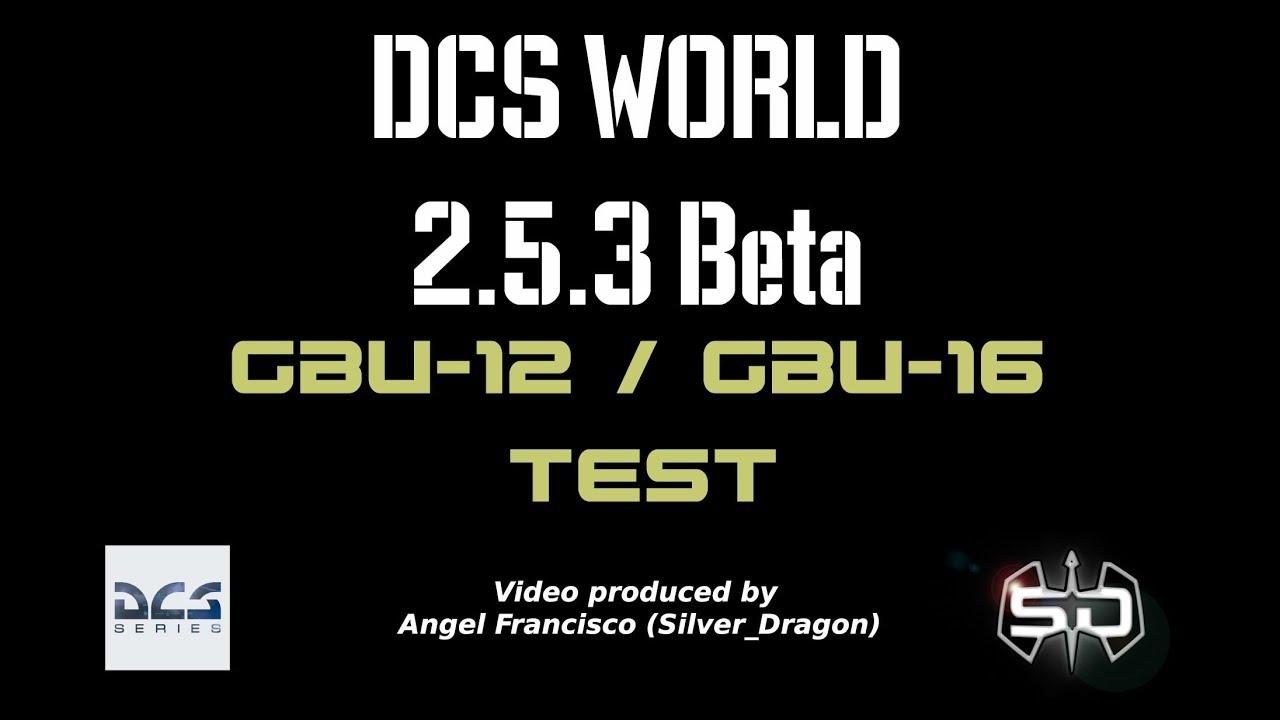 Download DCS World GBU-12 / GBU-16 Test