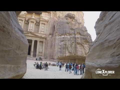 Petra, the Rose City with Travel Talk Tours 2016