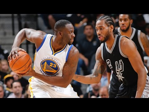 Warriors Beat Spurs for Piece of NBA History