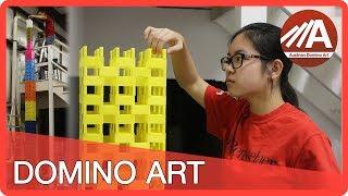 HUGE Domino Tower Fail! (Hevesh5 & Austrian Domino Art)