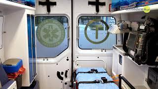 Nowa karetka dla działdowskiego szpitala