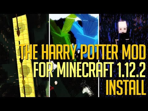 THE HARRY POTTER MOD 1.12.2 Minecraft - How To Download And Install Harry Potter Mod 1.12.2